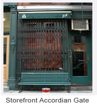 storefront-accordian-gate